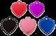 Swarovski LARGE HEART