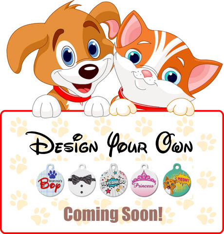 design your own pet tags