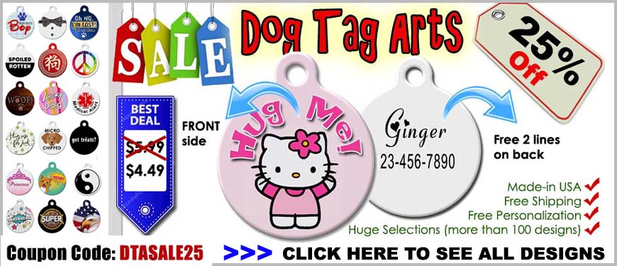 dog tag art pet tags