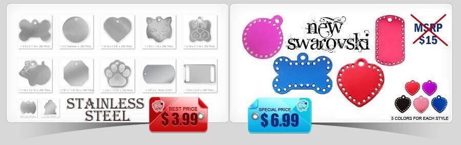 swarovski stainless tags category